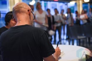 "Moby at the ""Porcelain: A Memoir"" book signing at the Harbourfront Centre in Toronto on May 26, 2016 (Photo: Jaime Espinoza/Aesthetic Magazine)"