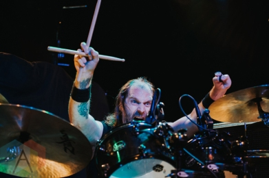 Entombed A.D. performing at the Commodore Ballroom in Vancouver on May 16, 2016. (Photo: Timothy Nguyen/Aesthetic Magazine)