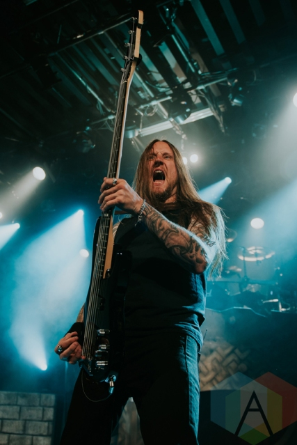 Amon Amarth performing at the Commodore Ballroom in Vancouver on May 16, 2016. (Photo: Timothy Nguyen/Aesthetic Magazine)