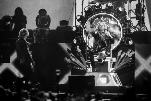 Guns N' Roses performing at the Coachella Music Festival on April 23, 2016. (Photo: Erik Voake/Goldenvoice)