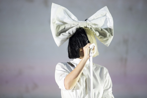 Sia performing at the Coachella Music Festival on April 24, 2016. (Photo: Nikki Jahanforouz)