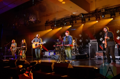 The Strumbellas performing at the Canadian Radio Music Awards in Toronto on May 6, 2016. (Photo: Julian Avram/Aesthetic Magazine)
