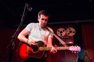 Max Frost performing at the Drake Hotel in Toronto on May 2, 2016. (Photo: Katrina Lat/Aesthetic Magazine)