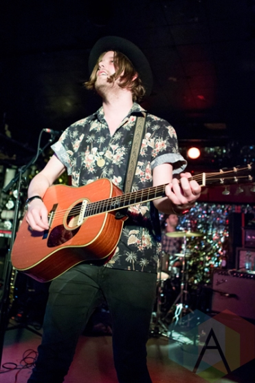 Alberta Cross performing at the Horseshoe Tavern in Toronto on May 6, 2016. (Photo: Katrina Lat/Aesthetic Magazine)