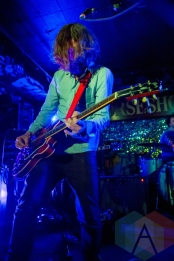 Wintersleep performing at the Horseshoe Tavern in Toronto on May 6, 2016. (Photo: Katrina Lat/Aesthetic Magazine)