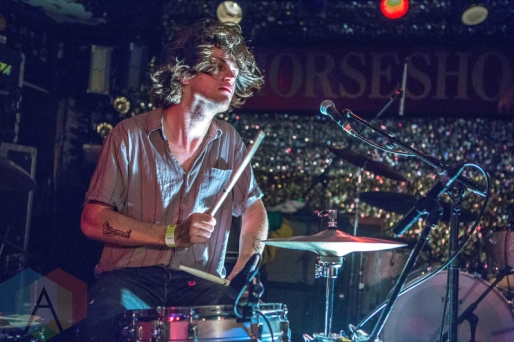 Jeff The Brotherhood performing at the Horseshoe Tavern in Toronto on May 6, 2016. (Photo: Katrina Lat/Aesthetic Magazine)