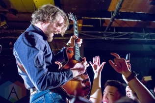 The Sheepdogs performing at the Horseshoe Tavern in Toronto on May 6, 2016. (Photo: Katrina Lat/Aesthetic Magazine)