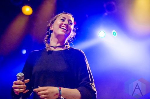 Heartstreet performing at the Mod Club in Toronto on May 7, 2016. (Photo: Katrina Lat/Aesthetic Magazine)