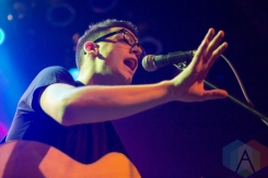 Lucas Dipasquale performing at the Mod Club in Toronto on May 7, 2016. (Photo: Katrina Lat/Aesthetic Magazine)