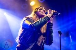 Kiki Rowe performing at the Mod Club in Toronto on May 7, 2016. (Photo: Katrina Lat/Aesthetic Magazine)