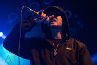 Amir Obe performing at the Mod Club in Toronto on May 7, 2016. (Photo: Katrina Lat/Aesthetic Magazine)
