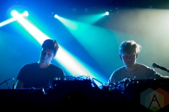 Humans performing at the Mod Club in Toronto on May 7, 2016. (Photo: Katrina Lat/Aesthetic Magazine)