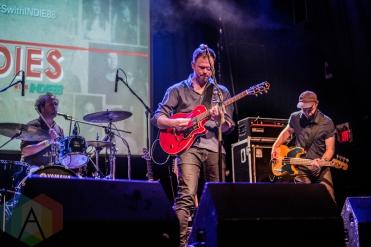Wintersleep performing at the Phoenix Concert Theatre in Toronto on May 4, 2016. (Photo: Philip C. Perron/Aesthetic Magazine)