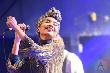 Yuna performing at The Mod Club in Toronto on May 5, 2016 (Photo: Jaime Espinoza/Aesthetic Magazine)