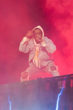 ASAP Rocky performing at Sasquatch 2016 at The Gorge Amphitheatre in George, Washington on May 27, 2016. (Photo: Matthew Lamb)