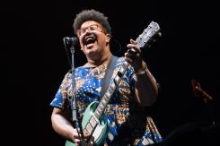 Alabama Shakes performing at Sasquatch 2016 at the Gorge Amphitheatre in George, Washington on May 29, 2016. (Photo: Matthew Lamb)