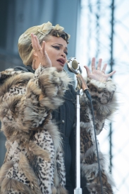 Andra Day performing at Sasquatch 2016 at The Gorge Amphitheatre in George, Washington on May 27, 2016. (Photo: Matthew Lamb)