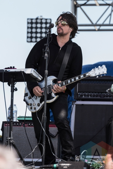 Autolux performing at Sasquatch 2016 at the Gorge Amphitheatre in George, Washington on May 29, 2016. (Photo: Kevin Tosh/Aesthetic Magazine)