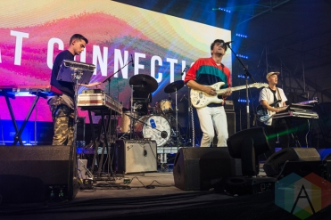 Beat Connection performing at Sasquatch 2016 at The Gorge Amphitheatre in George, Washington on May 28, 2016. (Photo: Kevin Tosh/Aesthetic Magazine)