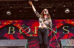 Borns performing at Boston Calling 2016 at Boston City Hall Plaza in Boston on May 28th. (Photo: Saidy Lopez/Aesthetic Magazine)