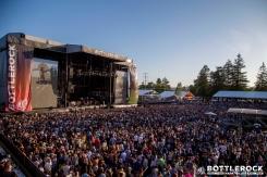 Lenny Kravitz performing at BottleRock 2016 in Napa Valley, California on May 27, 2016. (Photo: Zach Patino)