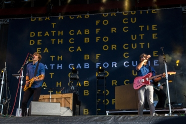 Death Cab For Cutie performing at BottleRock 2016 in Napa Valley, California on May 28, 2016. (Photo: Chris Carrasquillo)