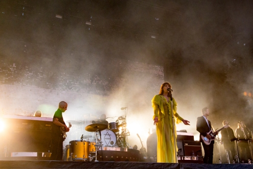 Florence And The Machine performing at BottleRock 2016 in Napa Valley, California on May 28, 2016. (Photo: Chris Carrasquillo)