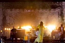 Florence And The Machine performing at BottleRock 2016 in Napa Valley, California on May 28, 2016. (Photo: BottleRock)