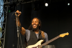 Ziggy Marley performing at BottleRock 2016 in Napa Valley, California on May 28, 2016. (Photo: Zach Patino)