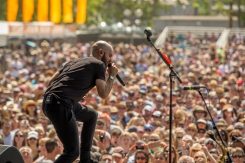 X Ambassadors performing at BottleRock 2016 in Napa Valley, California on May 29, 2016. (Photo: Zach Patino)