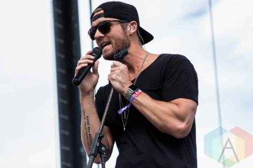 Brett Young performing on the Toyota Mane Stage at the Stagecoach Festival on April 30, 2016. (Photo: Meghan Lee/Aesthetic Magazine)