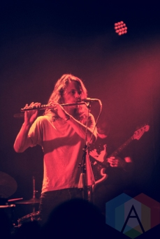 King Gizzard and The Lizard Wizard performing at Lincoln Hall in Chicago on May 8, 2016. (Photo: Callie Craig/Aesthetic Magazine)