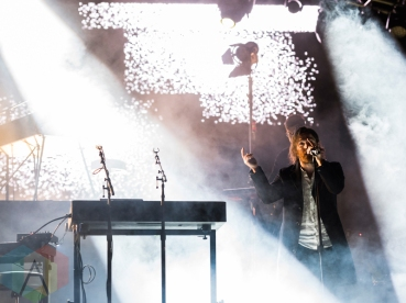 Chet Faker performing at Sasquatch 2016 at The Gorge Amphitheatre in George, Washington on May 27, 2016. (Photo: Kevin Tosh/Aesthetic Magazine)