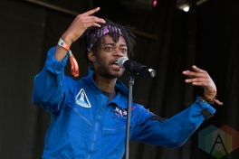 Cosmos performing at Sasquatch 2016 at the Gorge Amphitheatre in George, Washington on May 29, 2016. (Photo: Kevin Tosh/Aesthetic Magazine)