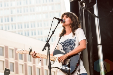 Courtney Barnett performing at Boston Calling 2016 at Boston City Hall Plaza in Boston on May 28th. (Photo: Saidy Lopez/Aesthetic Magazine)