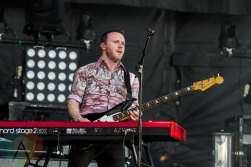 The Joy Formidable performing at BottleRock 2016 in Napa Valley, California on May 28, 2016. (Photo: Kari Terzino/Aesthetic Magazine)