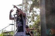 K.Flay performing at BottleRock 2016 in Napa Valley, California on May 28, 2016. (Photo: Kari Terzino/Aesthetic Magazine)