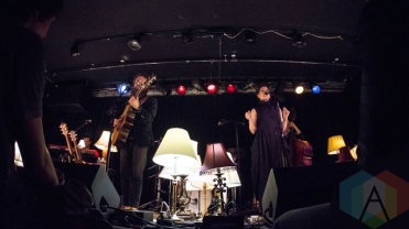 Sam Beam and Jesca Hoop performing at The Ark in Ann Arbor, Michigan on May 17, 2016. (Photo: Taylor Ohryn/Aesthetic Magazine)
