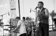 Cold War Kids performing at the Coachella Music Festival on April 24, 2016. (Photo: Ryan Muir/Goldenvoice)