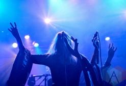 Myrkur performing at Mill City Nights in Minneapolis on April 30, 2016. (Photo: Zara Luna/Aesthetic Magazine)