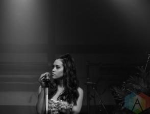 Megan Nicole performing at the Varsity Theatre in Minneapolis on May 12, 2016. (Photo: Zara Luna/Aesthetic Magazine)