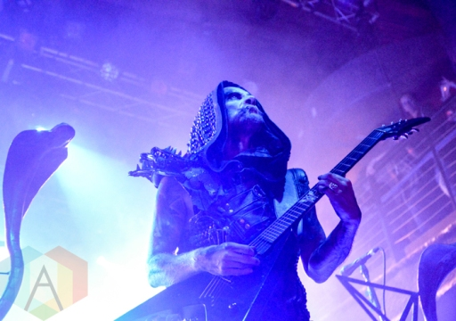 Behemoth performing at Mill City Nights in Minneapolis on April 30, 2016. (Photo: Zara Luna/Aesthetic Magazine)