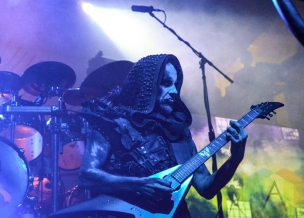 Behemoth performing at Mill City Nights in Minneapolis on April 30, 2016. (Photo: Zara Luna/Aesthetic Magazine)