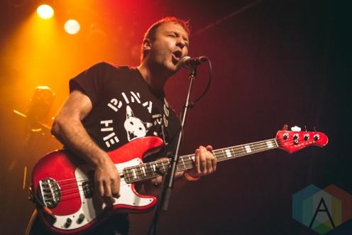 Jeff Rosenstock performing at the Phoenix Concert Theatre in Toronto on May 26, 2016. (Photo: Anthony D'Elia/Aesthetic Magazine)