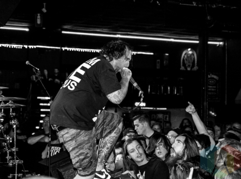The Acacia Strain performing at The Cabooze in Minneapolis on May 4, 2016. (Photo: Zara Luna/Aesthetic Magazine)