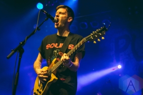 PUP performing at the Phoenix Concert Theatre in Toronto on May 26, 2016. (Photo: Anthony D'Elia/Aesthetic Magazine)