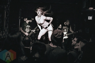 Sumo Cyco performing at Cherry Colas in Toronto on May 7, 2016. (Photo: Francesca Ludikar/Aesthetic Magazine)