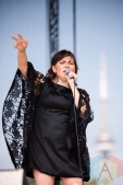 Tanya Tagaq performing at the 2016 CBC Music Festival at Echo Beach in Toronto on May 28, 2016. (Photo: Janine Van Oostrom/Aesthetic Magazine)