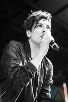 Ria Mae performing at the 2016 CBC Music Festival at Echo Beach in Toronto on May 28, 2016. (Photo: Janine Van Oostrom/Aesthetic Magazine)