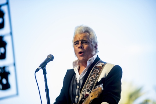 Dale Watson performing on the Palomino Stage at the Stagecoach Festival on April 29, 2016. (Photo: Nate Watters/Goldenvoice)